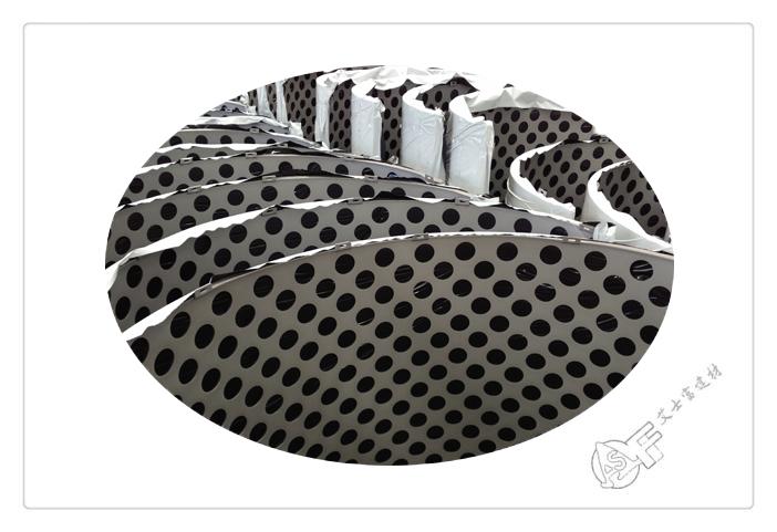 铝manbetx官网电脑版冲孔-板弧形板